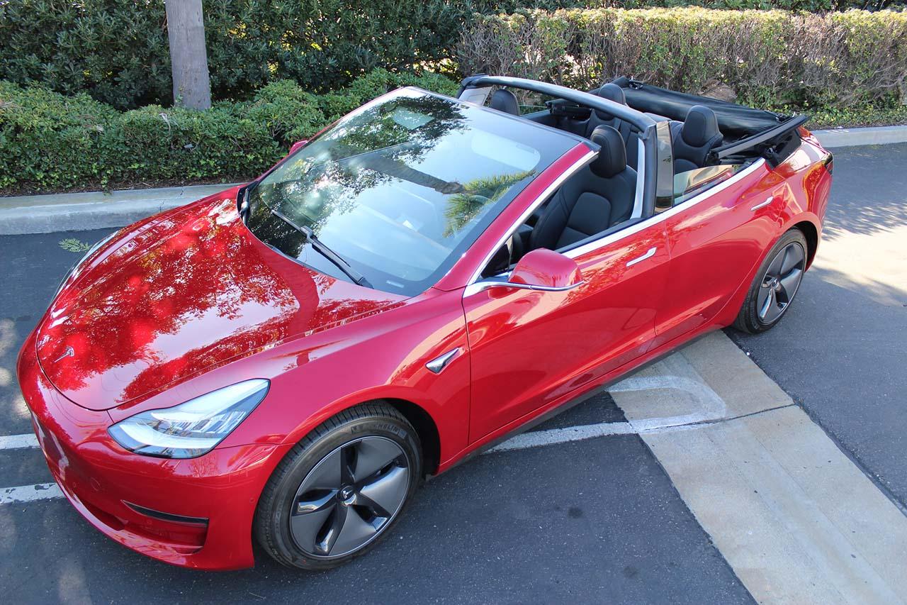 Tesla Model 3: Extravagant als Cabrio-Umbau