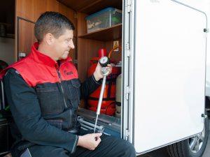 KÜS: Gasprüfung bei Campmobilen relevant für die Sicherheit
