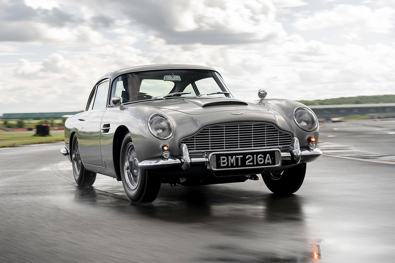 "Aston Martin DB5 Continuation: ""Goldfinger""-Replika zum Millionenpreis"