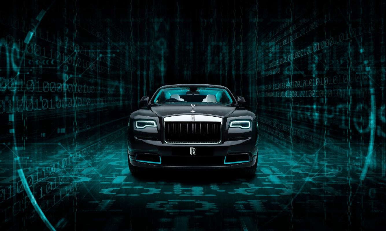 Rolls-Royce Kryptos Collection: Ein Auto als Rätsel