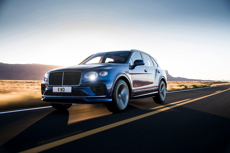 Bentley Bentayga Facelift: Kein Zwölfzylinder mehr für Europa