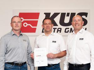 KÜS DATA GmbH: Neuerung in Führungsebene und Rezertifizierung Rechenzentrum