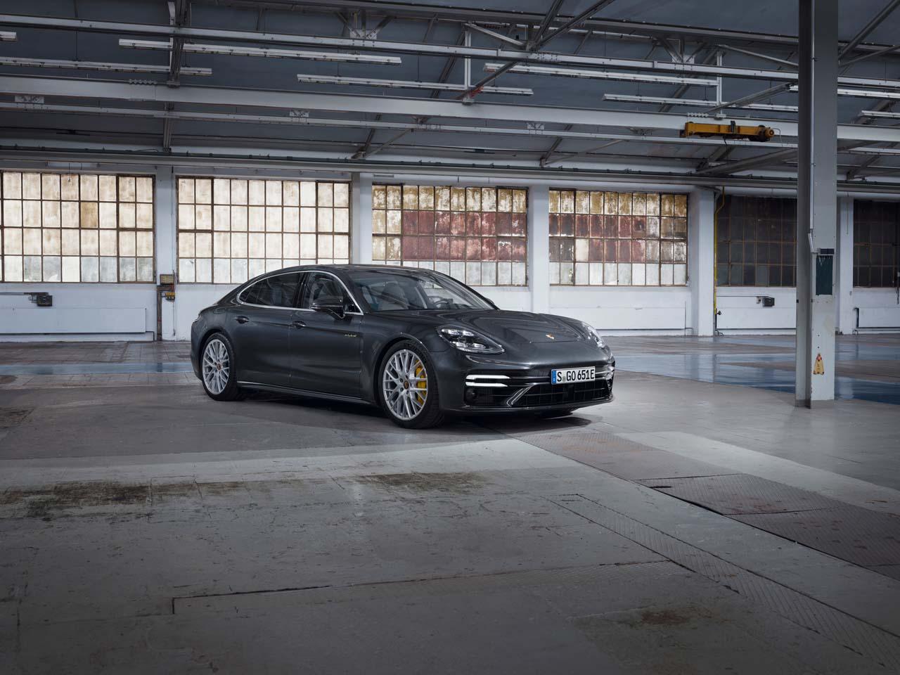 Porsche Panamera: Neuer Hybrid als Top-Modell