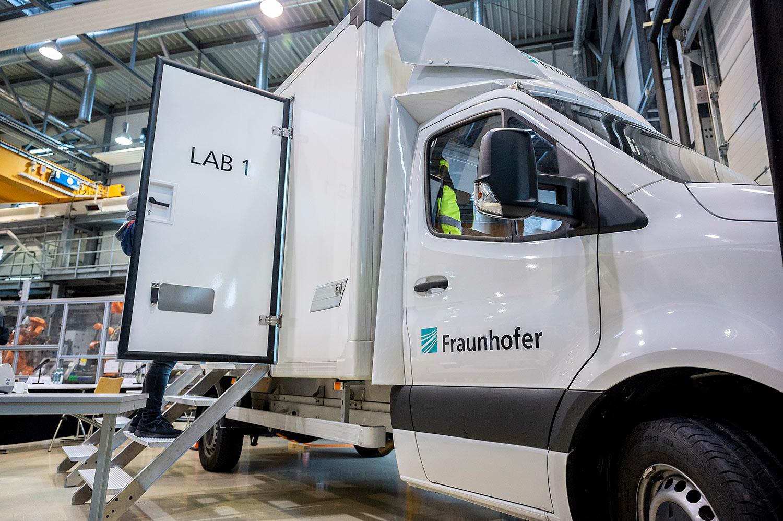 Fraunhofer Institut: COVID 19 – Testmobil als Prototyp