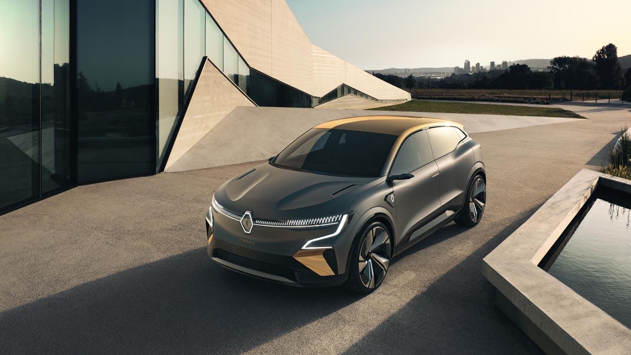 Renault Mégane eVision: Blick in die Elektro-Zukunft