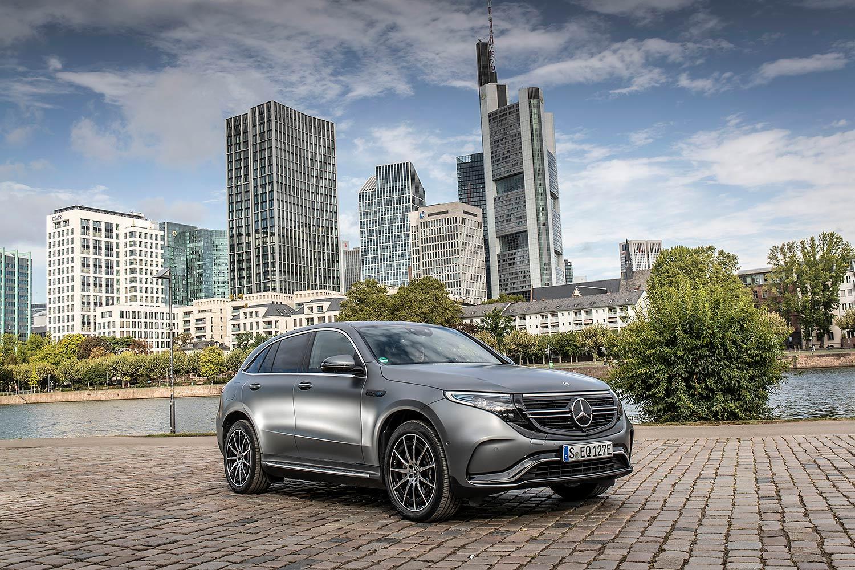 Mercedes ECQ: Schnellere Lademöglichkeit