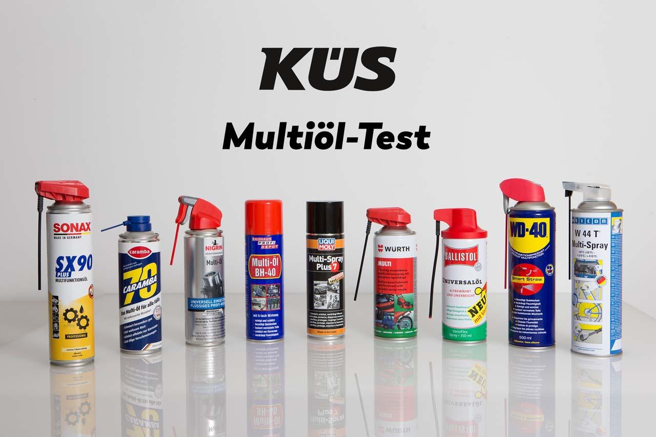 Multifunktionsöle im KÜS-Test