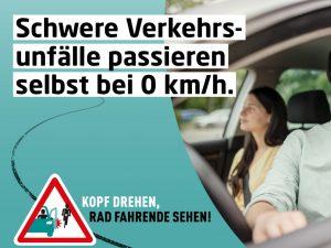 DVR macht mit Kampagne gegen Dooring-Unfälle aufmerksam
