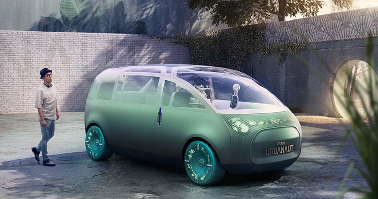 MINI-Vision Urbanaut: Wohnzimmer auf Rädern