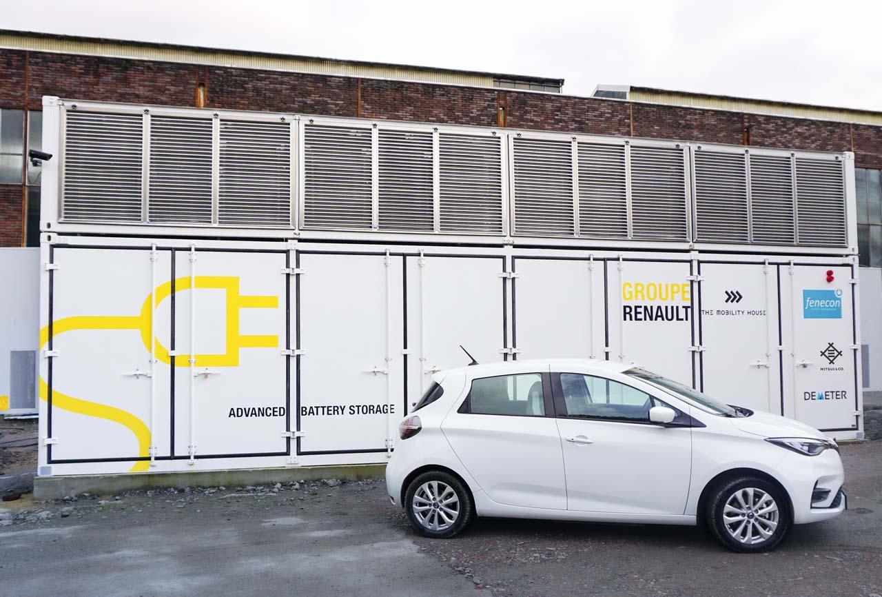 Renault-Projekt: Stationärer Batteriespeicher