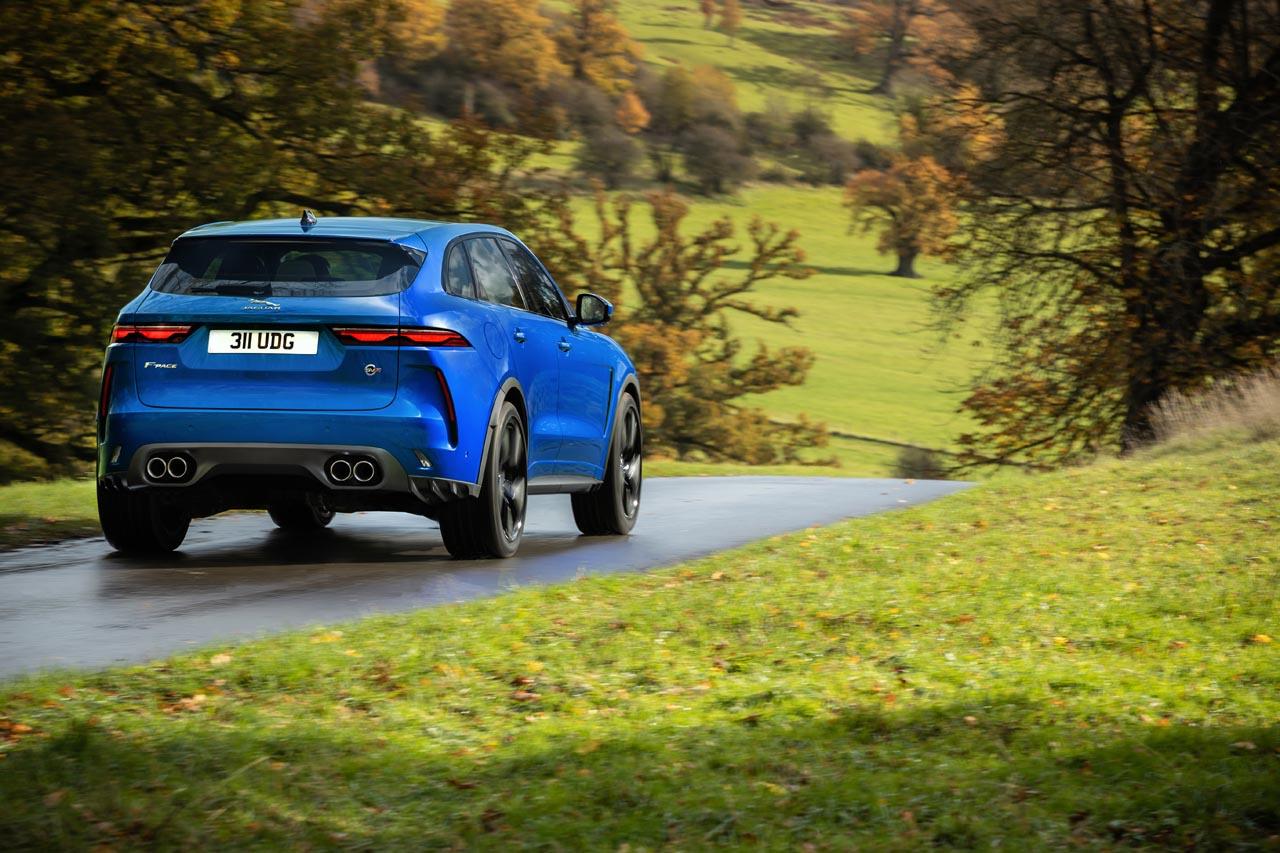 Jaguar F-Pace SVR: Frisch renoviert