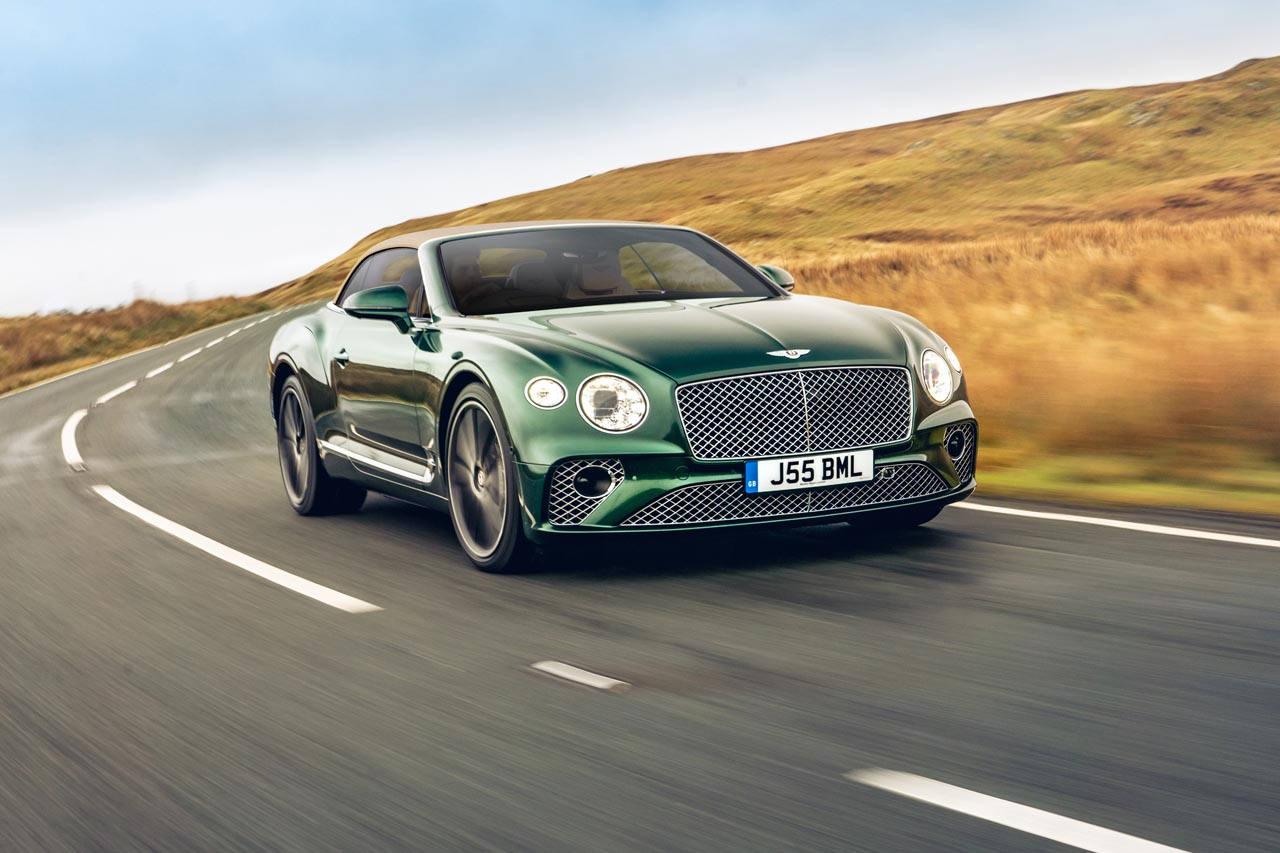 Bentley-Option: Türverkleidung aus Tweed