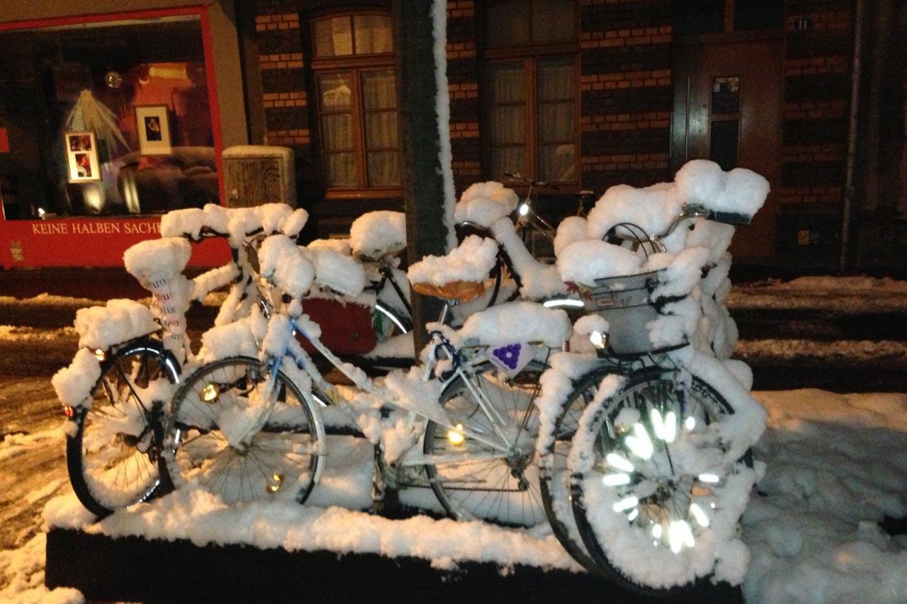 Radfahrer: Sicher unterwegs im Winter