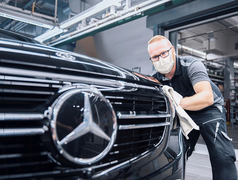 Ausblick Mercedes C-Klasse: Vier Zylinder sind das Maximum