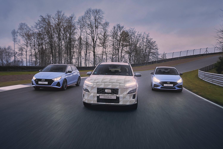 Hyundai: Kona N wird erstes Hochleistungs-SUV der Marke