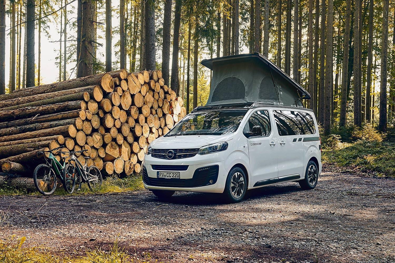 Opel Crosscamp Lite: Für Camping-Puristen