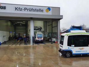 KÜS: Entwicklung von Prüfkriterien für autonomes Shuttle/autonomen Personenverkehr