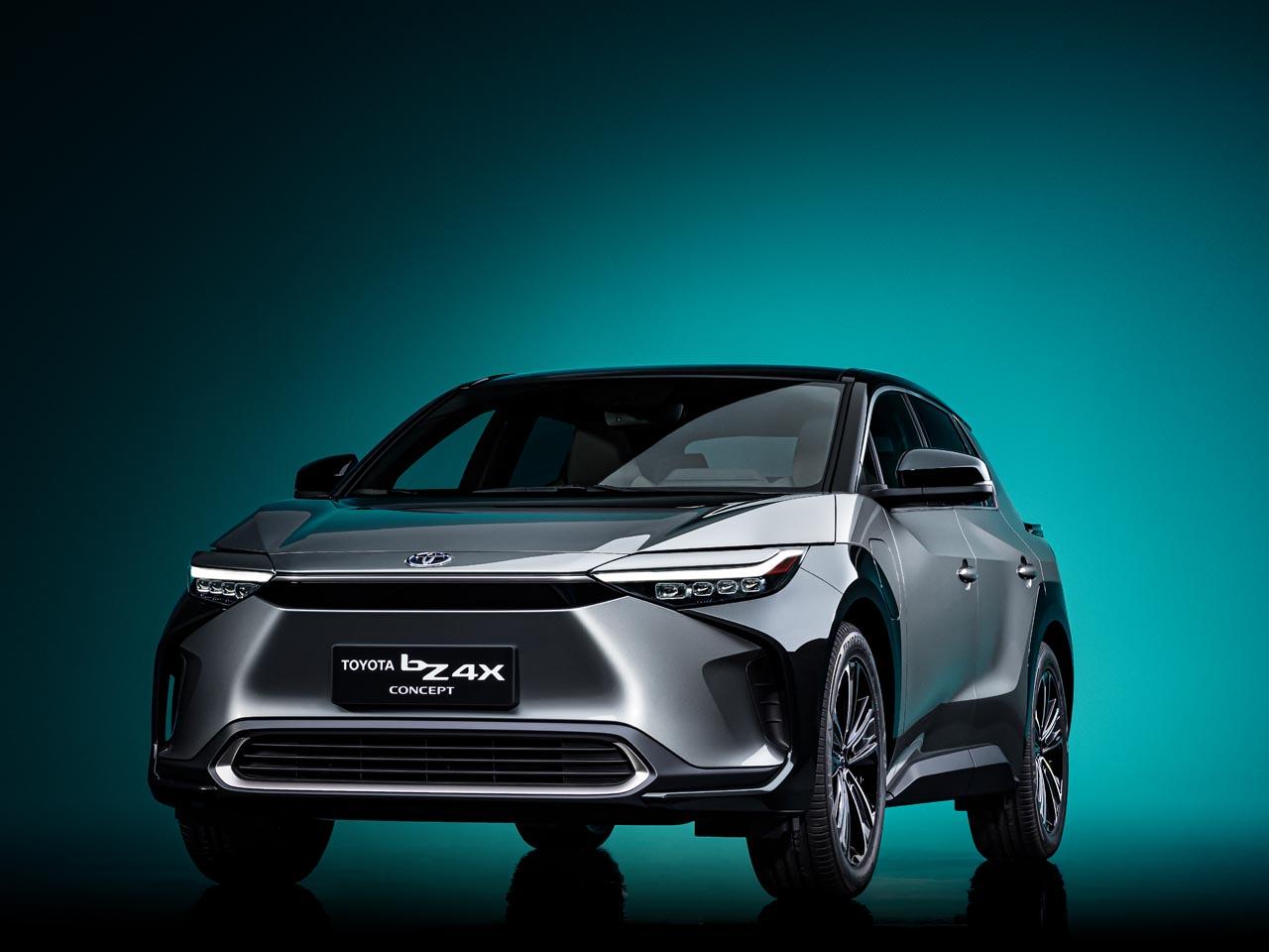 Toyota bZ4X Concept: Ein Name, ein Programm