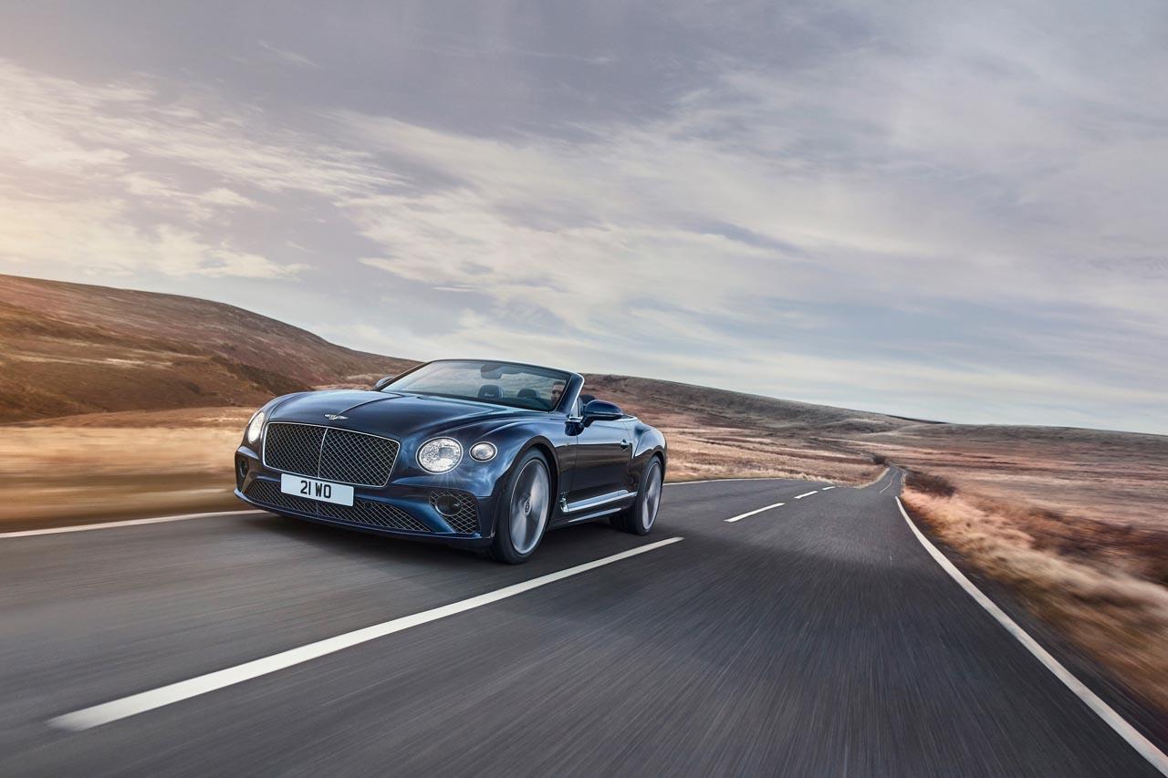 Bentley Continental GT Speed: Jetzt auch als Cabrio