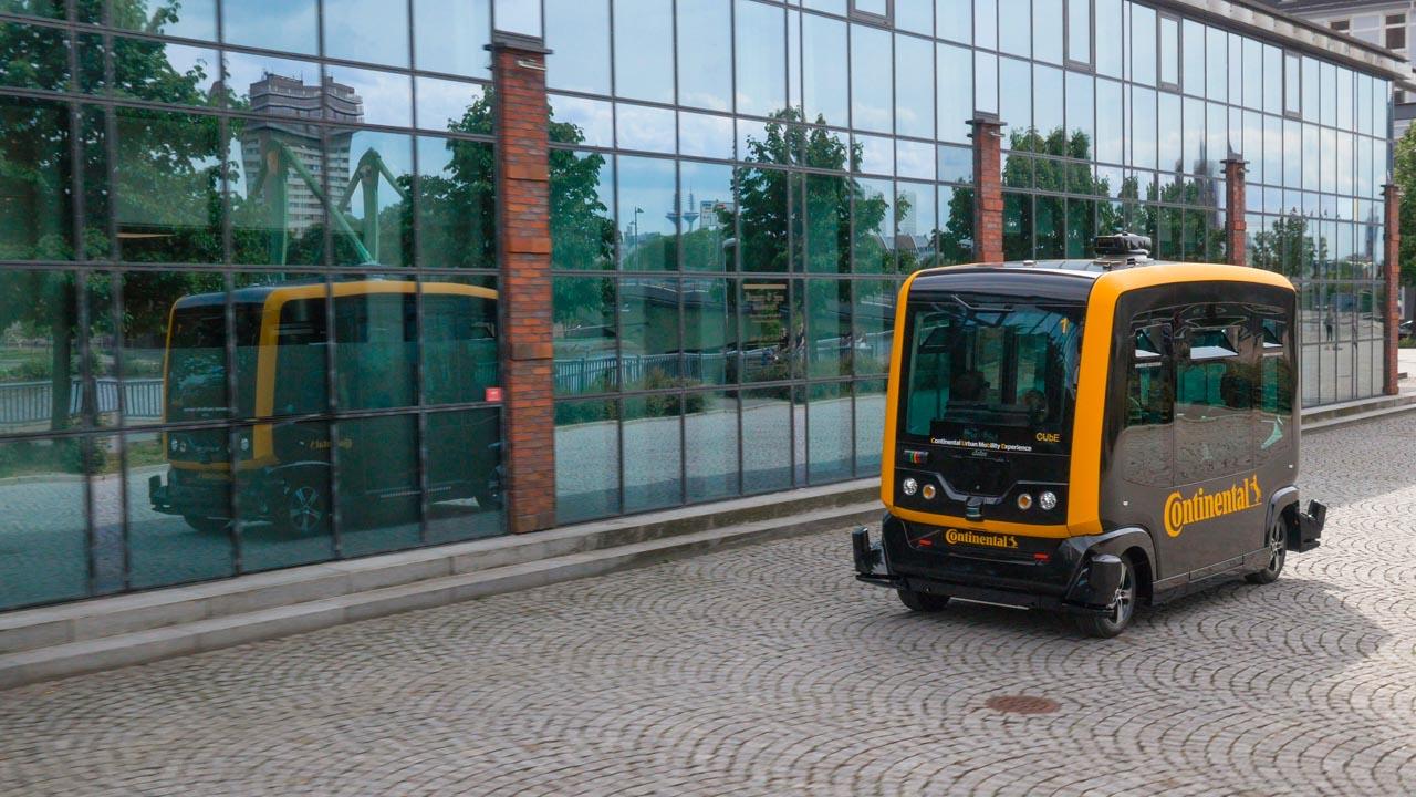 Lindau: Autonomer Shuttle-Service zwischen Blüten und Blumen