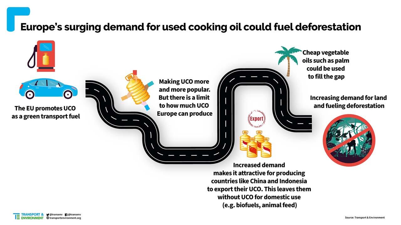 Biokraftstoffe aus gebrauchtem Speiseöl: Kontrolle ist wichtig