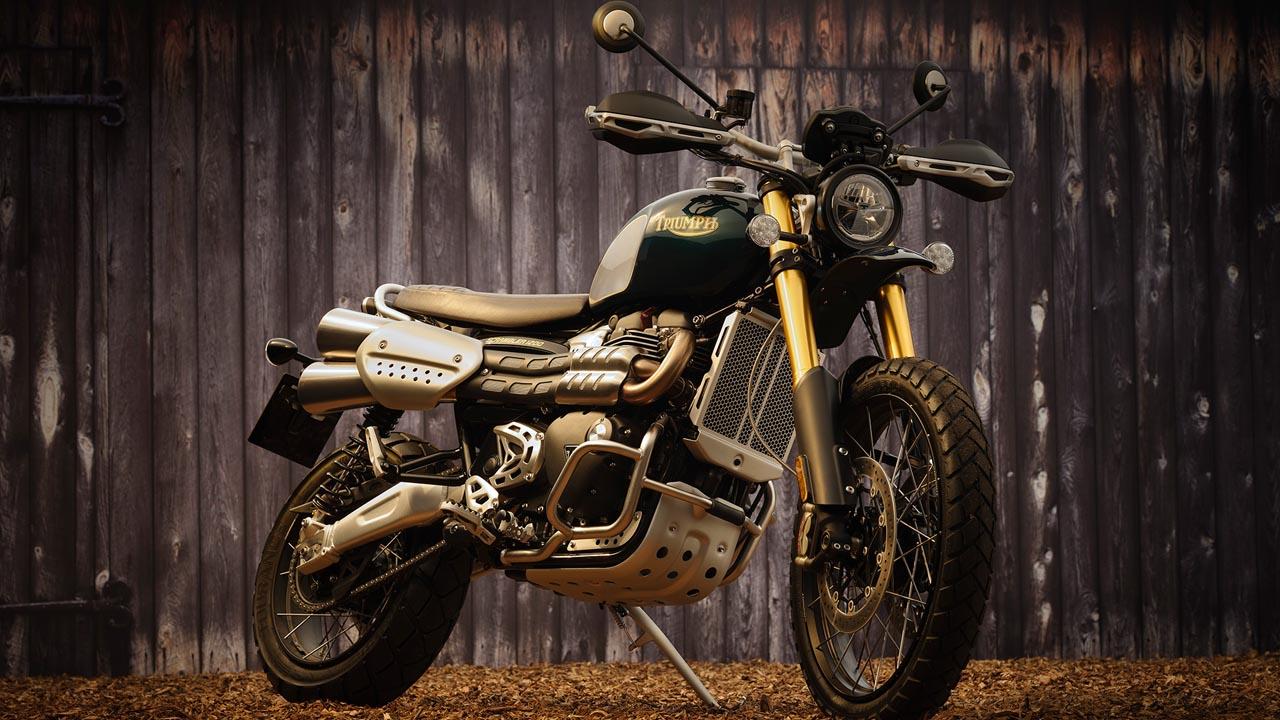 """Triumph 1200 Scrambler: Sondermodell """"Steve McQueen"""""""