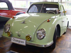 Champion: Unikum auf vier Rädern