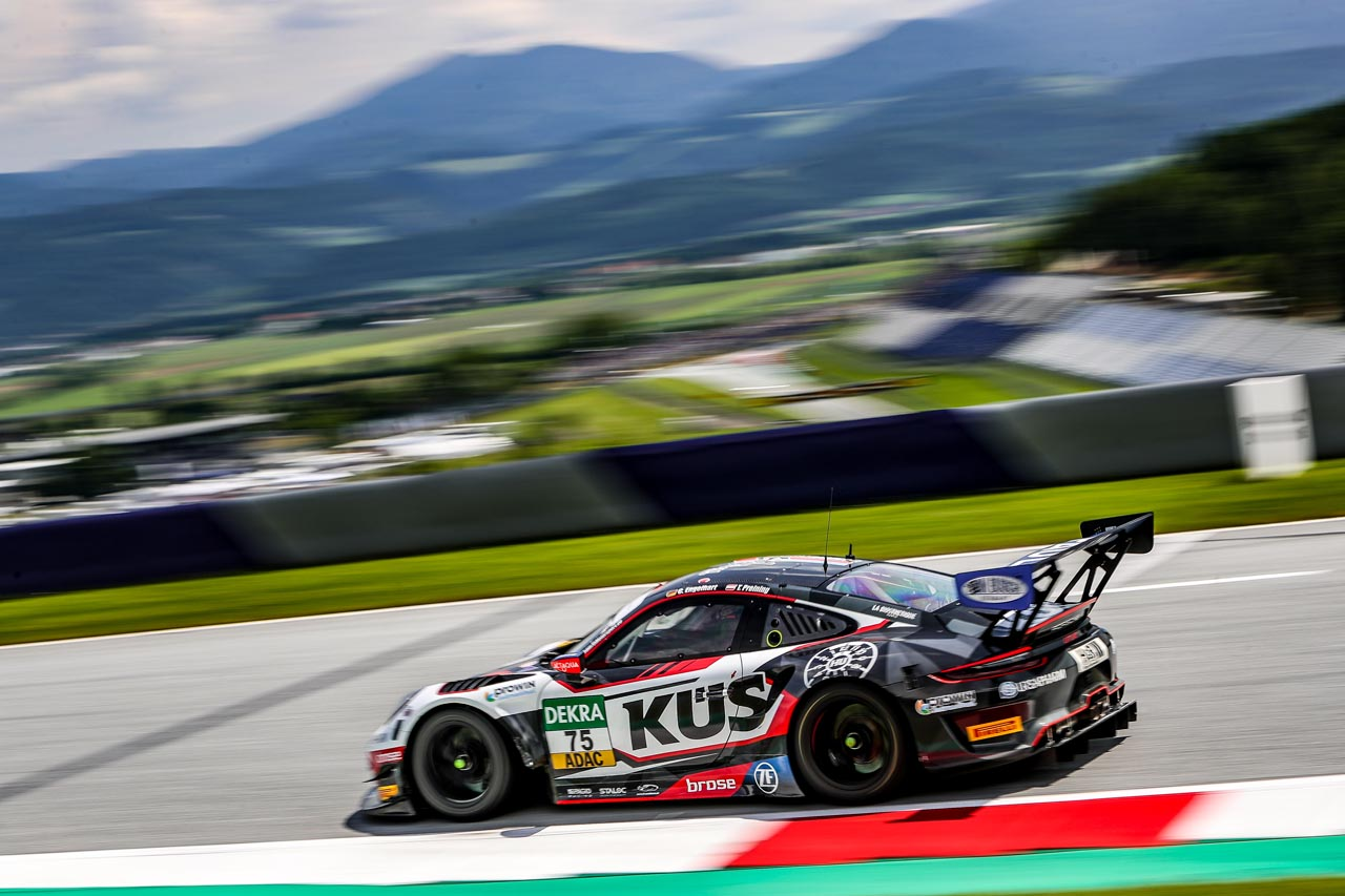 KÜS Team Bernhard: ADAC GT Masters am Red Bull Ring