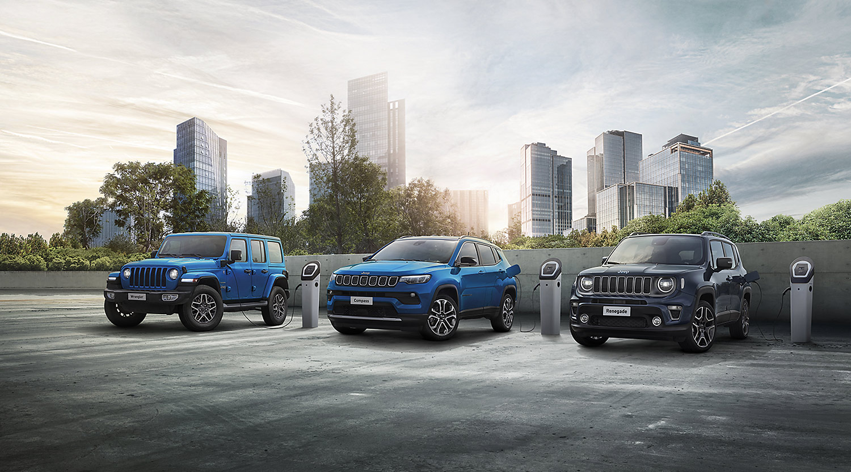 Jeep: Geländewagenhersteller setzt auf E-Mobilität
