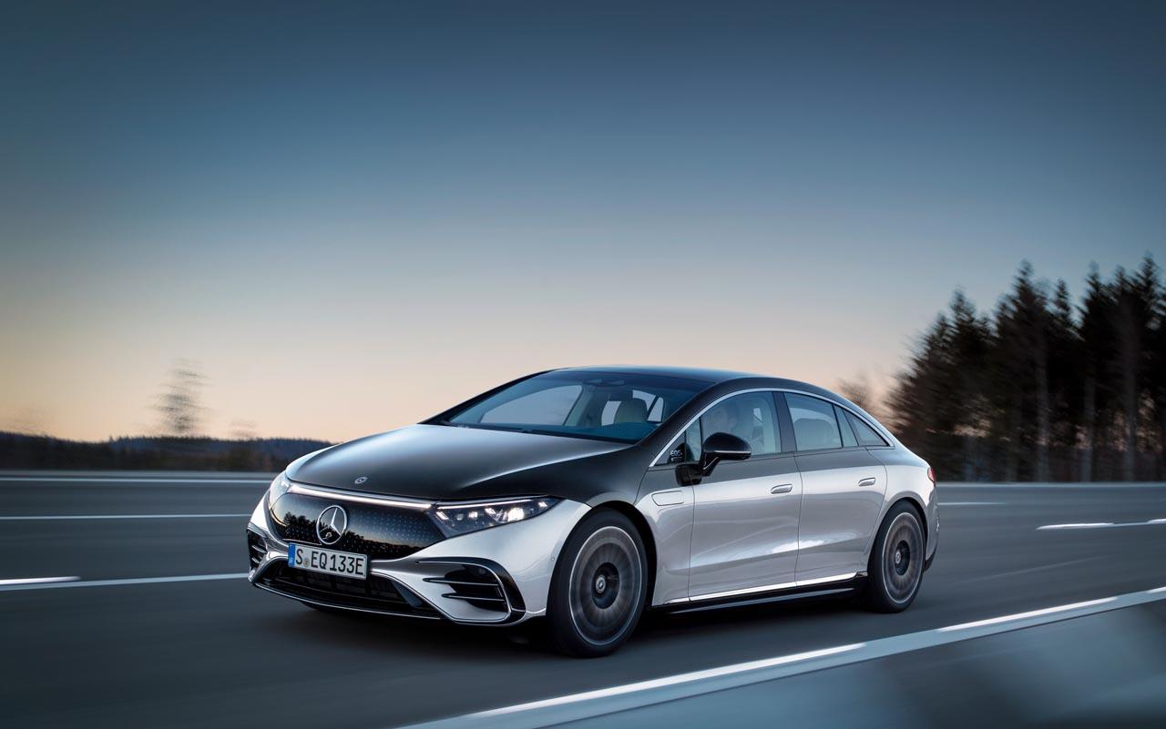 """Mercedes EQS: """"Der Nase nach"""" zur E-Mobilität"""