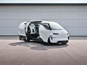 """Porsche-Studie """"Vision Renndienst Concept"""": Einblicke ins Innenleben"""