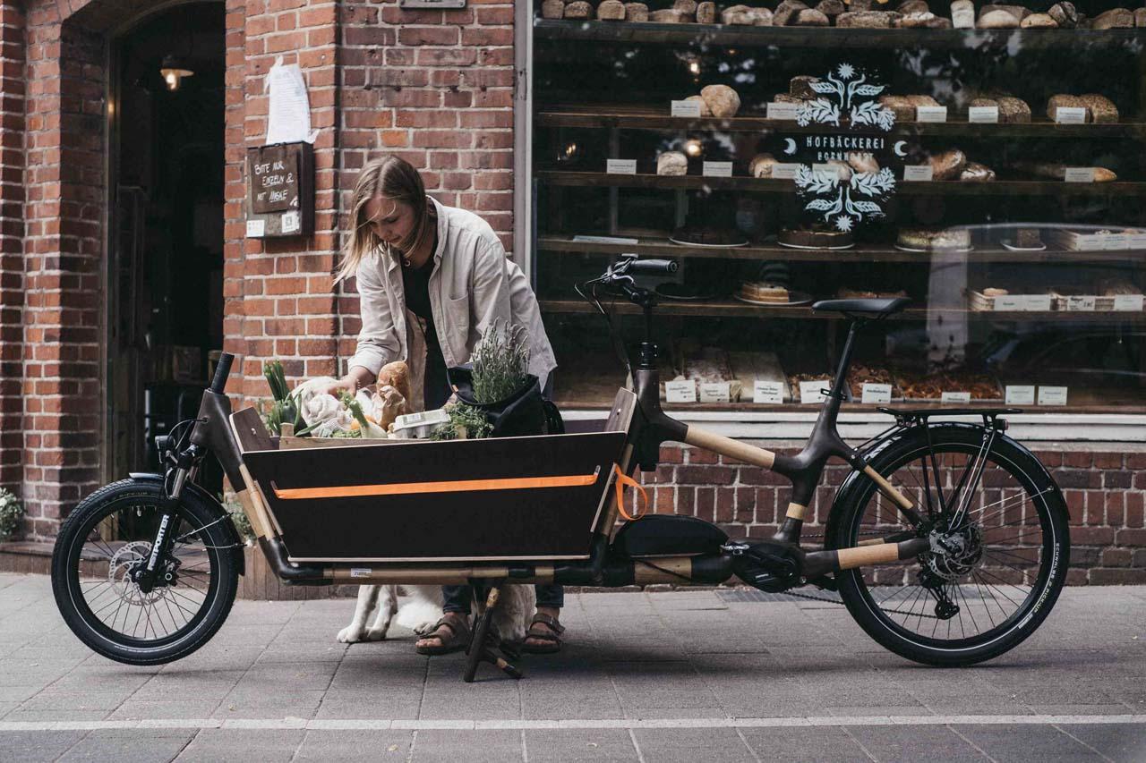 MyBoo: E-Cargobike aus Bambus