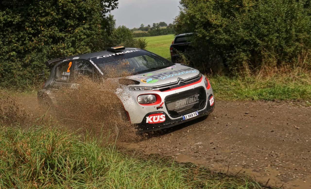 Marijan Griebel: Gesamtzweiter bei ADAC Cimbern Rallye