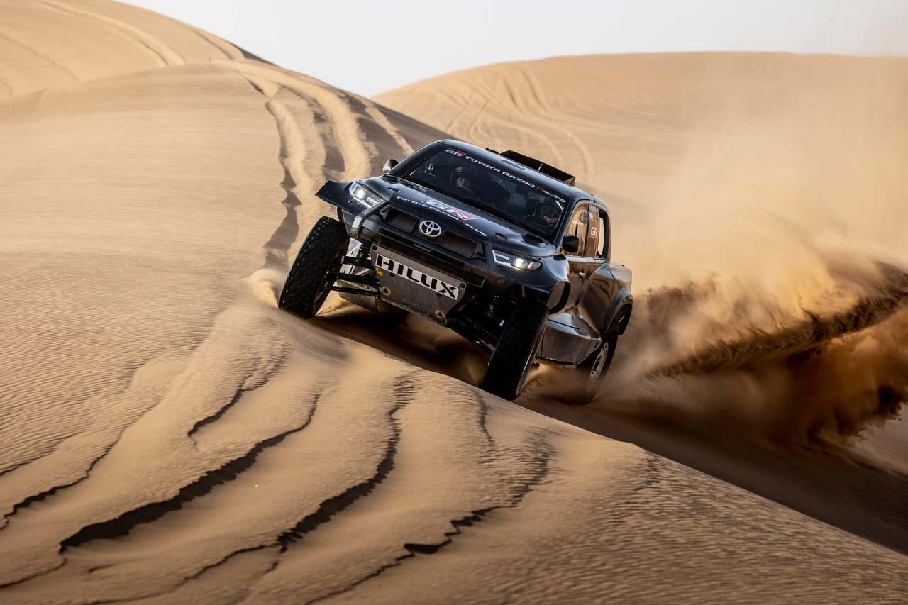 Dakar 2022: Toyota mit neuen Motoren und neuen Teams