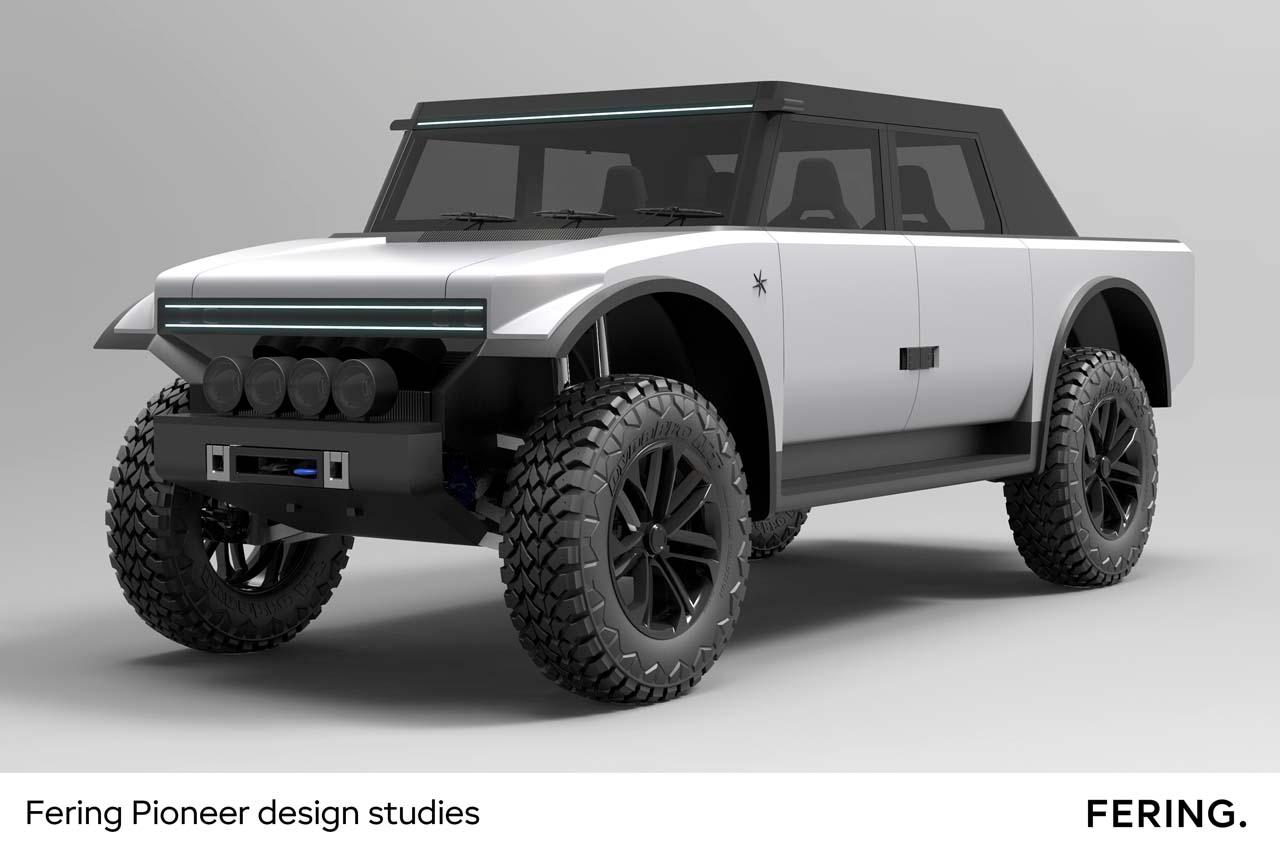 Fering Pioneer: 7.000 Kilometer Reichweite mit E-SUV