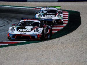 KÜS Team Bernhard beim ADAC GT Masters auf dem Lausitzring