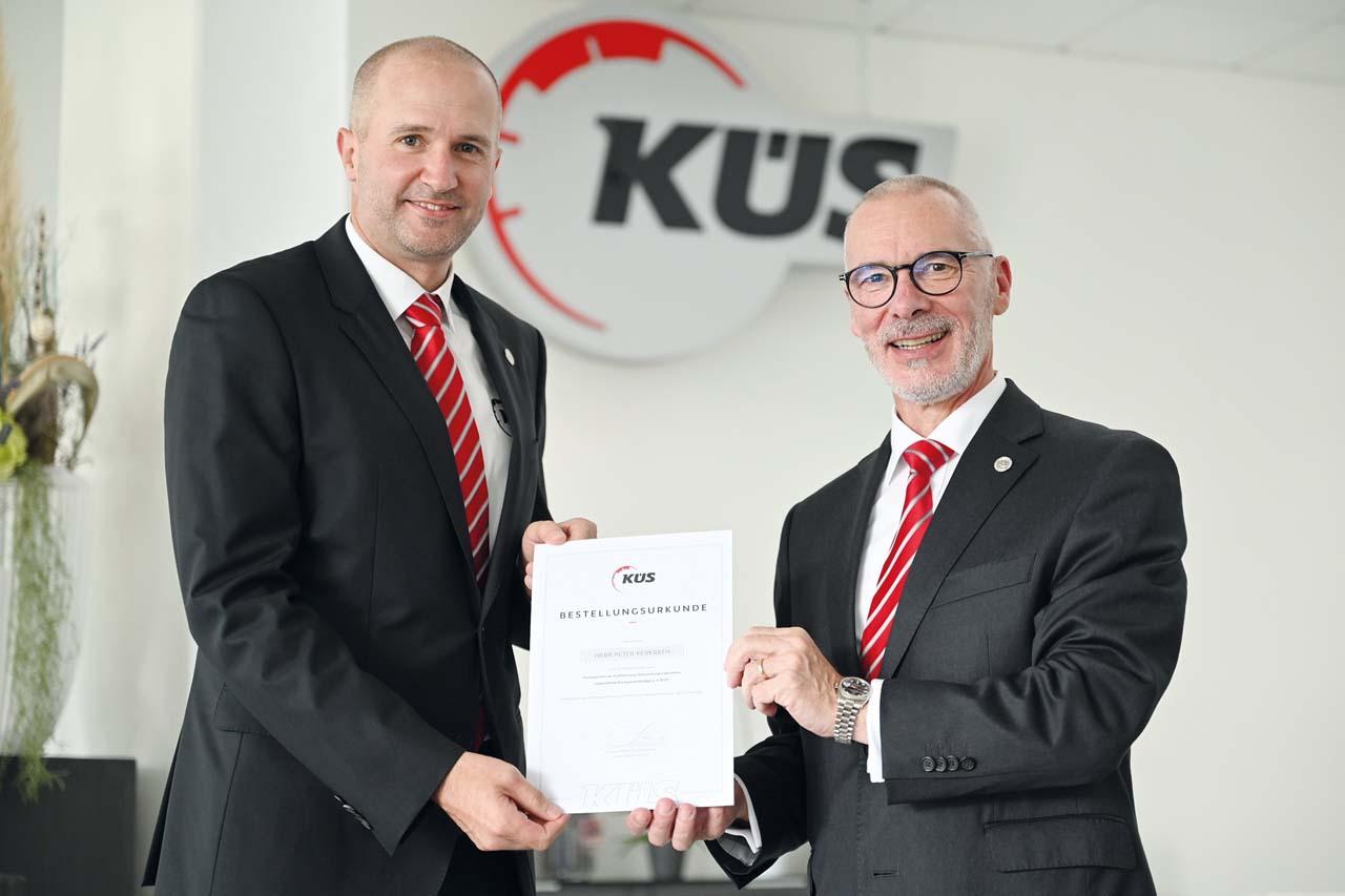 KÜS: Peter Kerkrath übernimmt ab sofort die Funktion des Pressesprechers