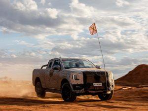 Ford Ranger: Ab 2024 auch mit E-Motor zu haben