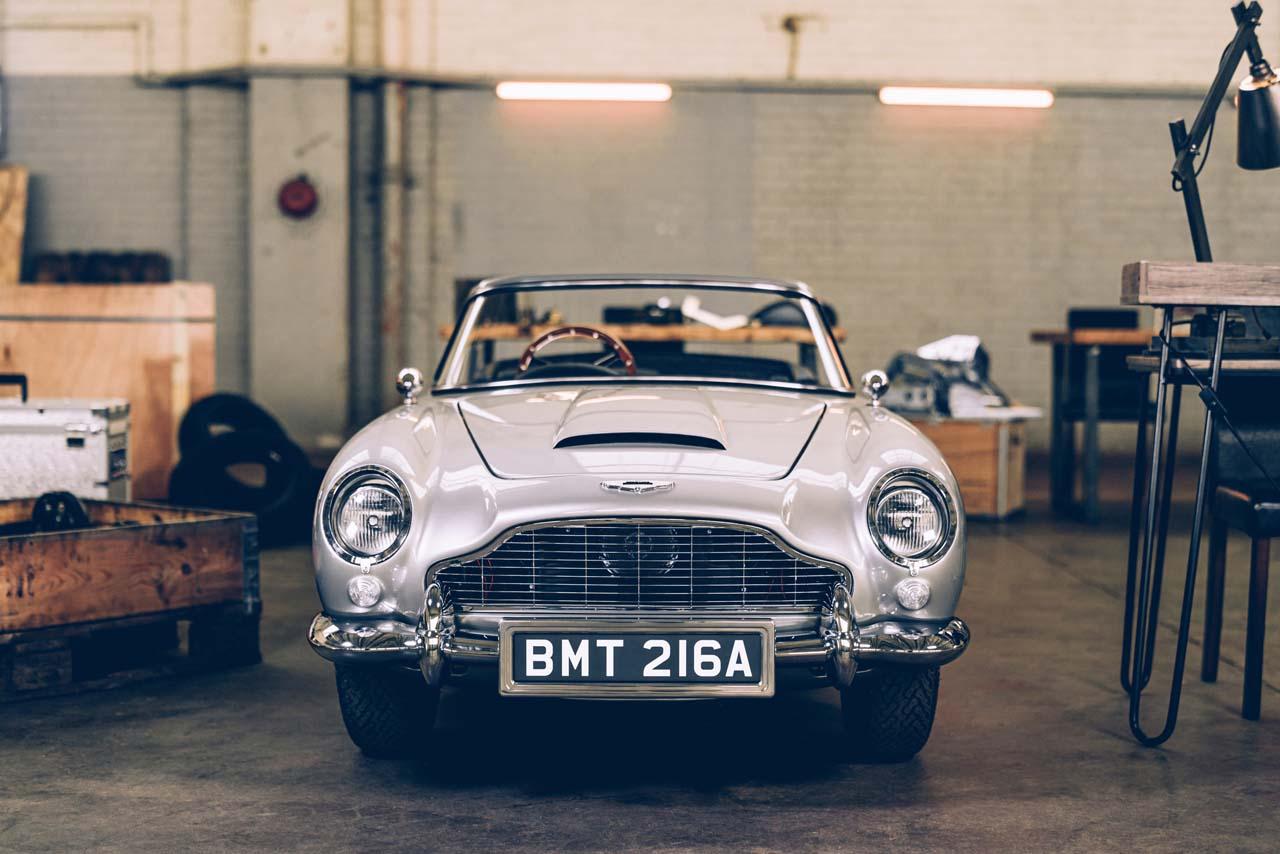 Aston Martin: Mit Agentenausstattung, aber nicht für die Straße