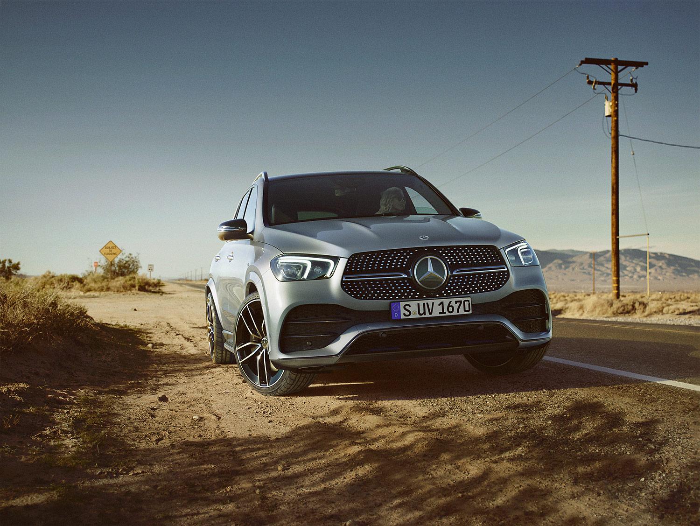 Mercedes GLE: 48 Volt statt sechs Zylinder